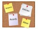 Tauler d'anuncis Ajuntament Castellnou de Seana
