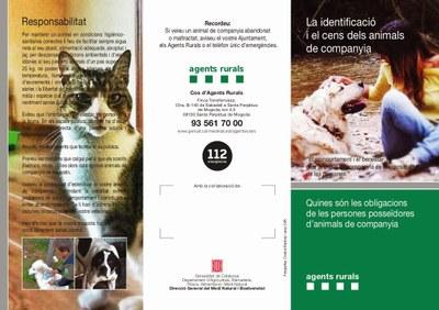 Identificació i cens dels animals de companyia